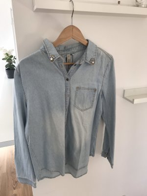 Primark Denim Shirt light blue