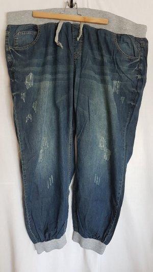 Sheego Baggy Jeans dark blue