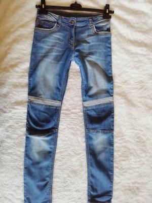 Drainpipe Trousers multicolored