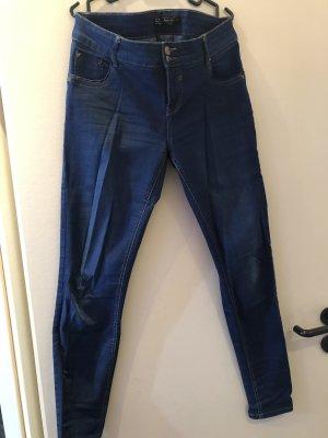 Clockhouse Pantalón elástico azul oscuro