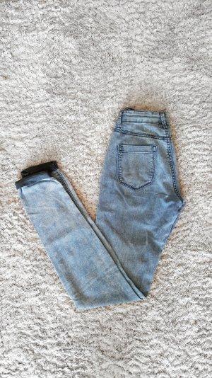 Tally Weijl Pantalon cigarette bleu