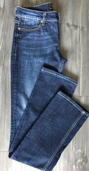 Guess Jeans taille haute bleuet