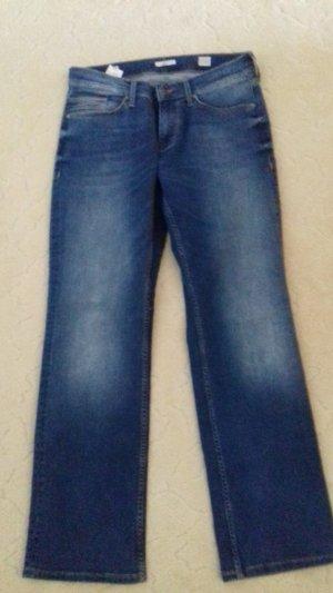 Mustang Straight Leg Jeans slate-gray
