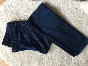 Amisu Pantalone a vita bassa multicolore