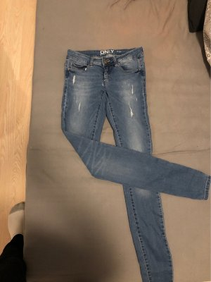 Only Low Rise Jeans azure