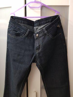 Jeans boyfriend bleu foncé