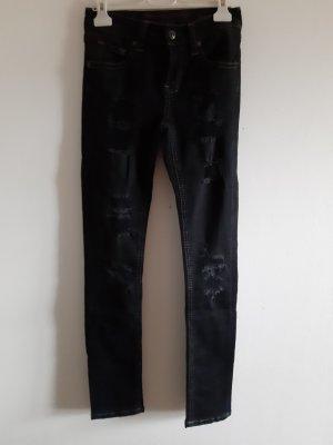 Vaquero elásticos negro