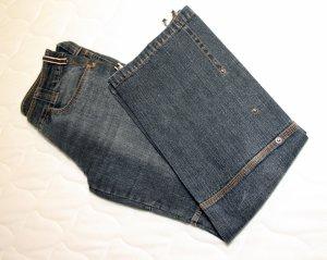 Tchibo / TCM Pantalón tobillero azul oscuro Algodón