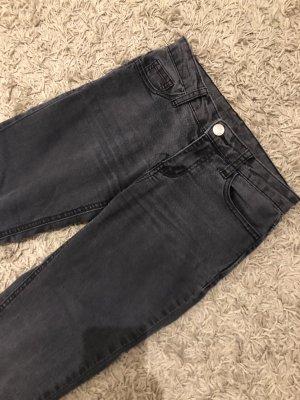 Fishbone Pantalone a sigaretta antracite