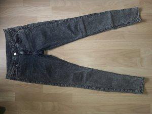 H&M Vaquero elásticos gris pizarra-azul oscuro
