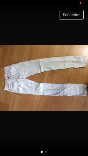 Tube Jeans white