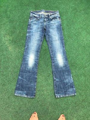 Jeanshose blau Größe 34 w 27 L34 guter Zustand