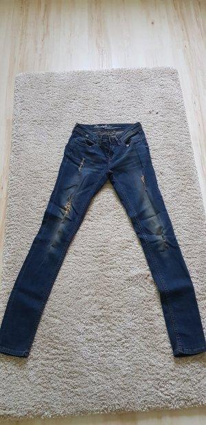 BlendShe Slim Jeans dark blue