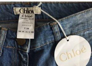 Chloé Skinny Jeans azure-steel blue