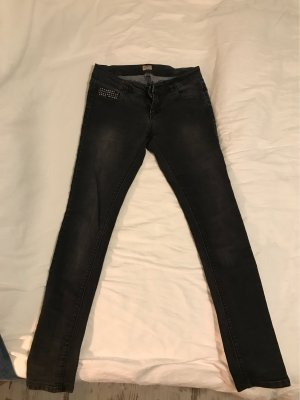 Only Low Rise Jeans black-dark grey