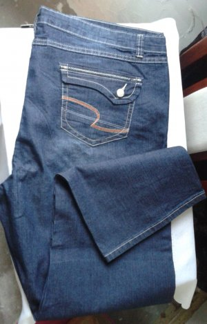 Carrot Jeans neon blue