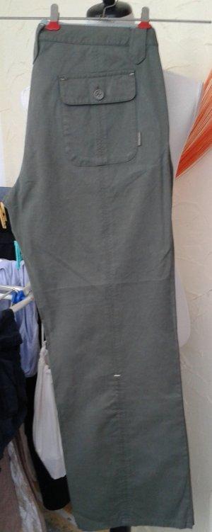 Tom Tailor Pantalón de color caqui caqui