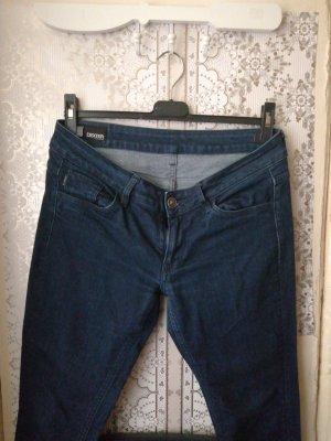 G-Star Raw pantalón de cintura baja azul oscuro