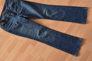 Jeanshose in blau Gerades Bein