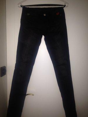 Jeanshose in schwarz