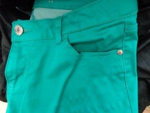 Celebrity Pantalón de cinco bolsillos verde Algodón