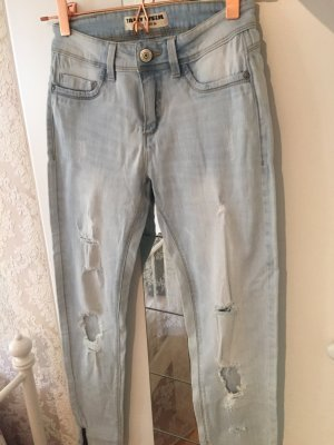 Jeanshose in Used Look