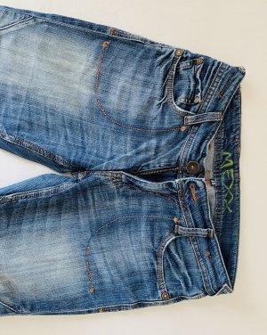 Mexx 3/4-jeans blauw Katoen