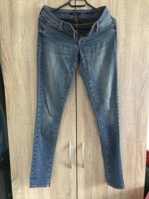 Mexx Woolen Trousers cornflower blue