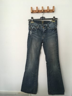Jeanshose mit Schlag der Marke 7 For All Mankind