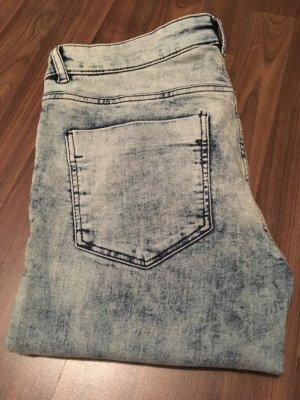 Jeanshose von H&M Blogger