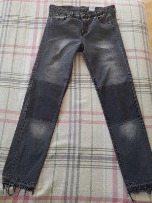 Jeanshose von H&M SCHWARZ