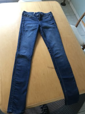 Hollister Stretch Jeans dark blue
