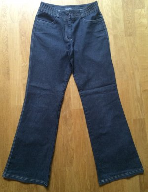 Street One Jeans bootcut gris anthracite-noir