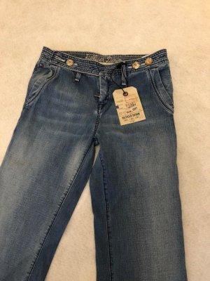 Tommy Hilfiger Jeans a zampa d'elefante blu