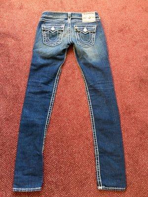 True Religion Jeans vita bassa multicolore Tessuto misto