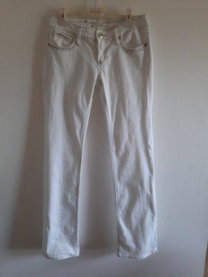 Fracomina Pantalón elástico blanco