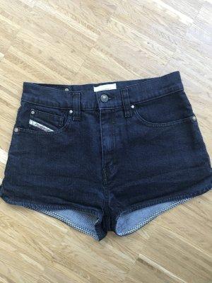 Jeanshotpants von Diesel (High-waist)