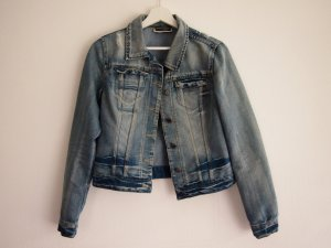 Noisy May Veste en jean multicolore coton