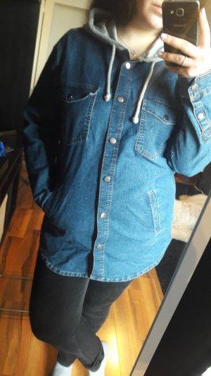 H&M Veste en jean gris clair-bleu