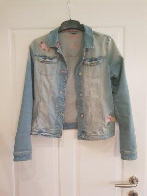 C&A Denim Jacket pink-light blue