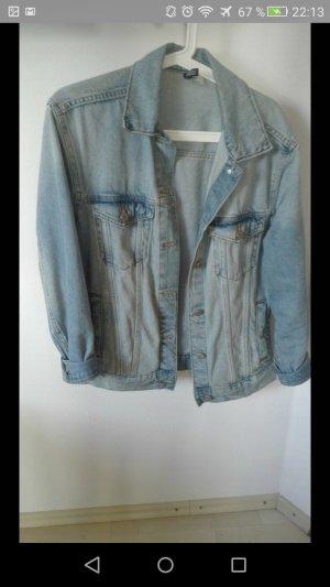 H&M Veste en jean bleu pâle