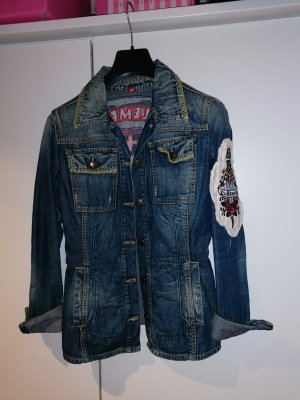 Made in Italy Denim Jacket multicolored