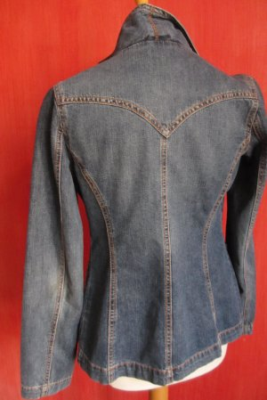 Denim Blazer dark blue cotton