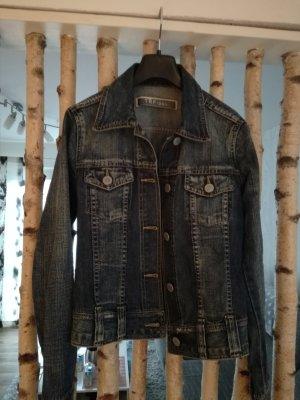 TRF Denim Jacket dark blue