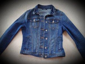 Tom Tailor Veste en jean bleu