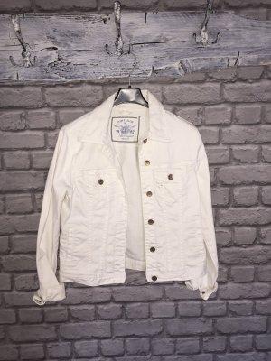 Tom Tailor Veste en jean blanc