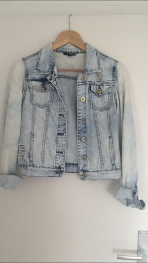 Jeansjacke Acid washed