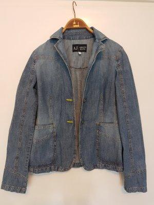 Armani Jeans Veste en jean gris ardoise