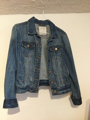 Jeansjacke blau Denim