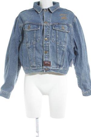 Jeansjacke blau Jeans-Optik